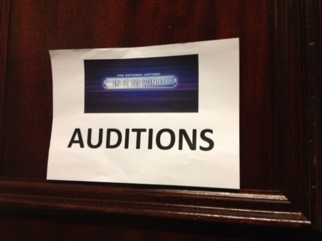 Dale Winton In it to Win It Audition Application